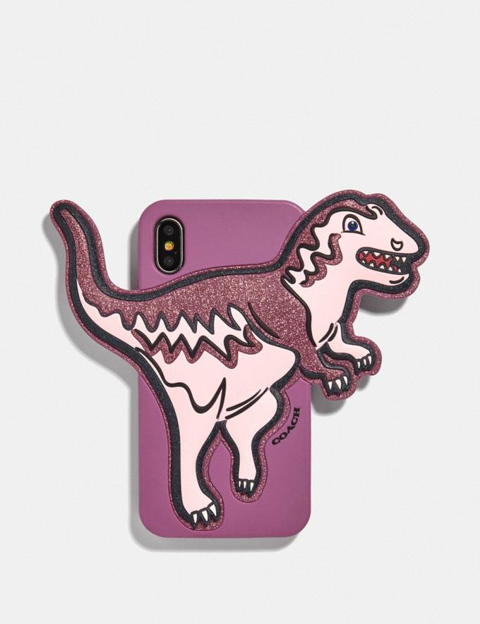 Coach iPhone X/Xs Case With Rexy Pink/Multi VIP SALE Women's Sale Accessories