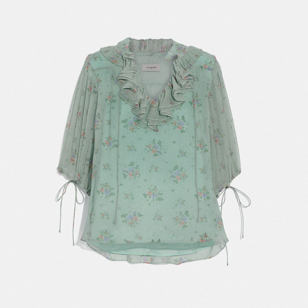 PRAIRIE BOUQUET PRINT TOP