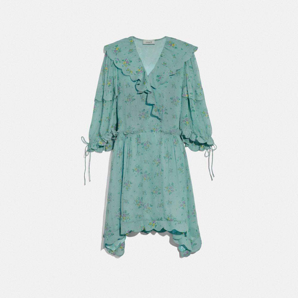 Coach Prairie Bouquet Print Dress