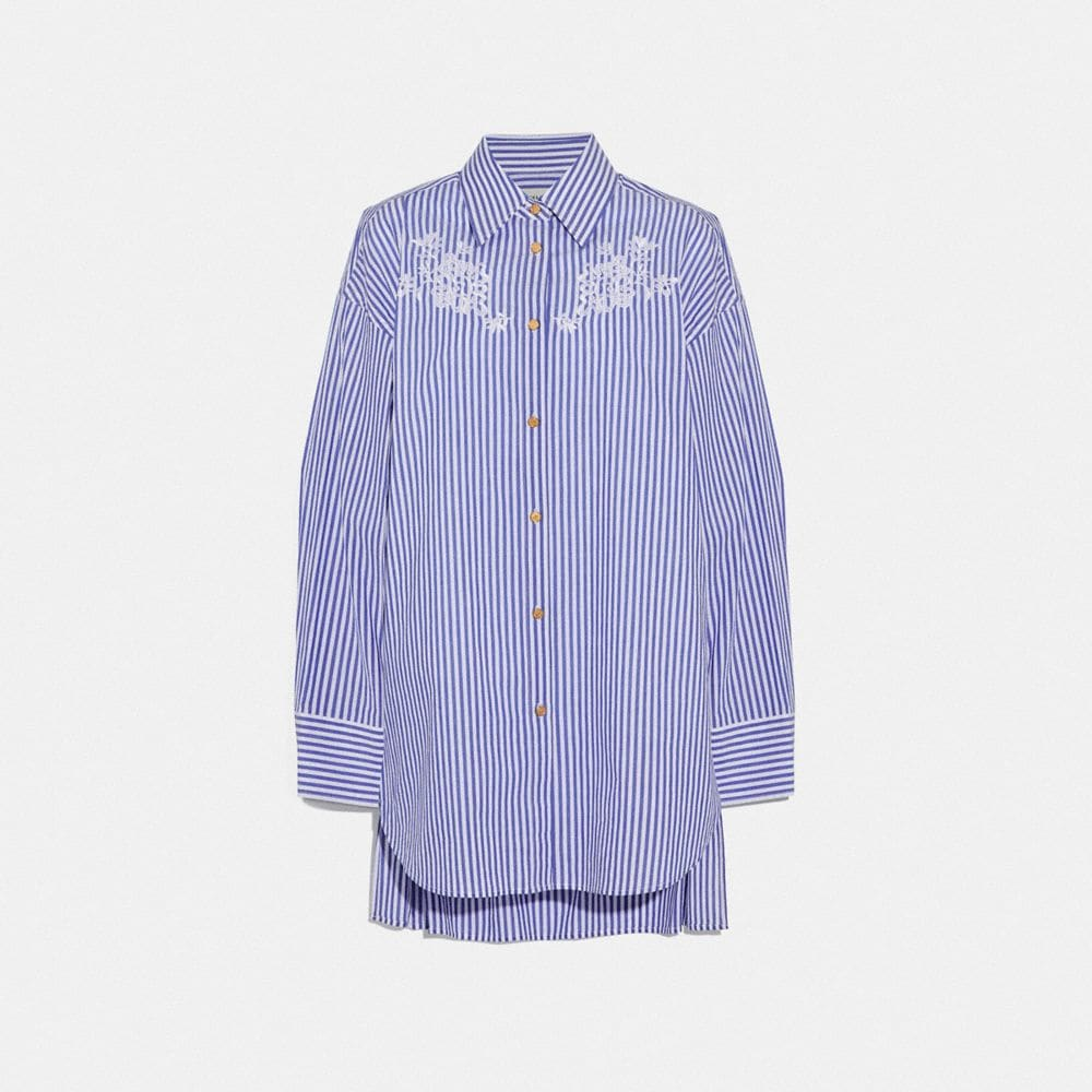Coach Embroidered Long Shirt