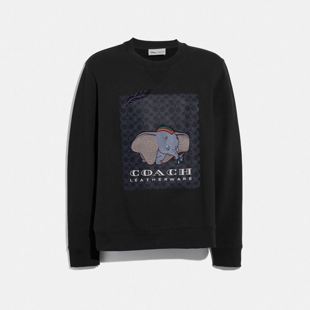 DISNEY X COACH DUMBO PRINT SWEATSHIRT