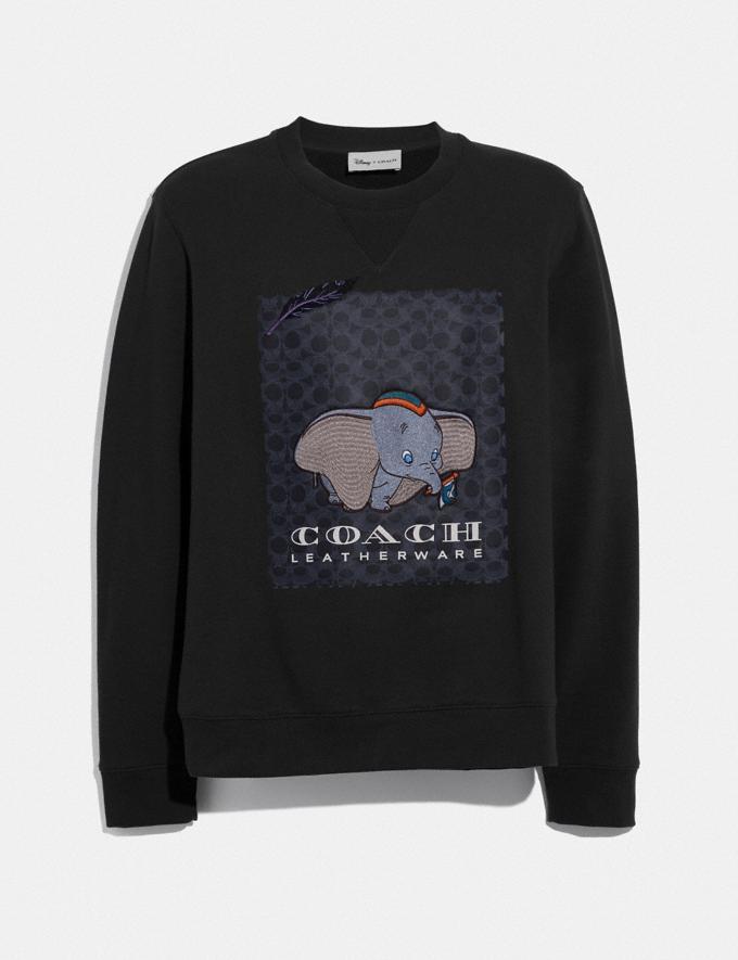 Coach Disney X Coach Dumbo Print Sweatshirt Black With Dumbo Men Ready-to-Wear Tops & Bottoms