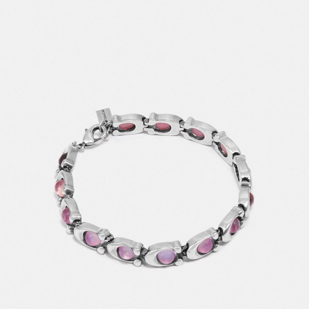 Coach Signature Stone Bracelet