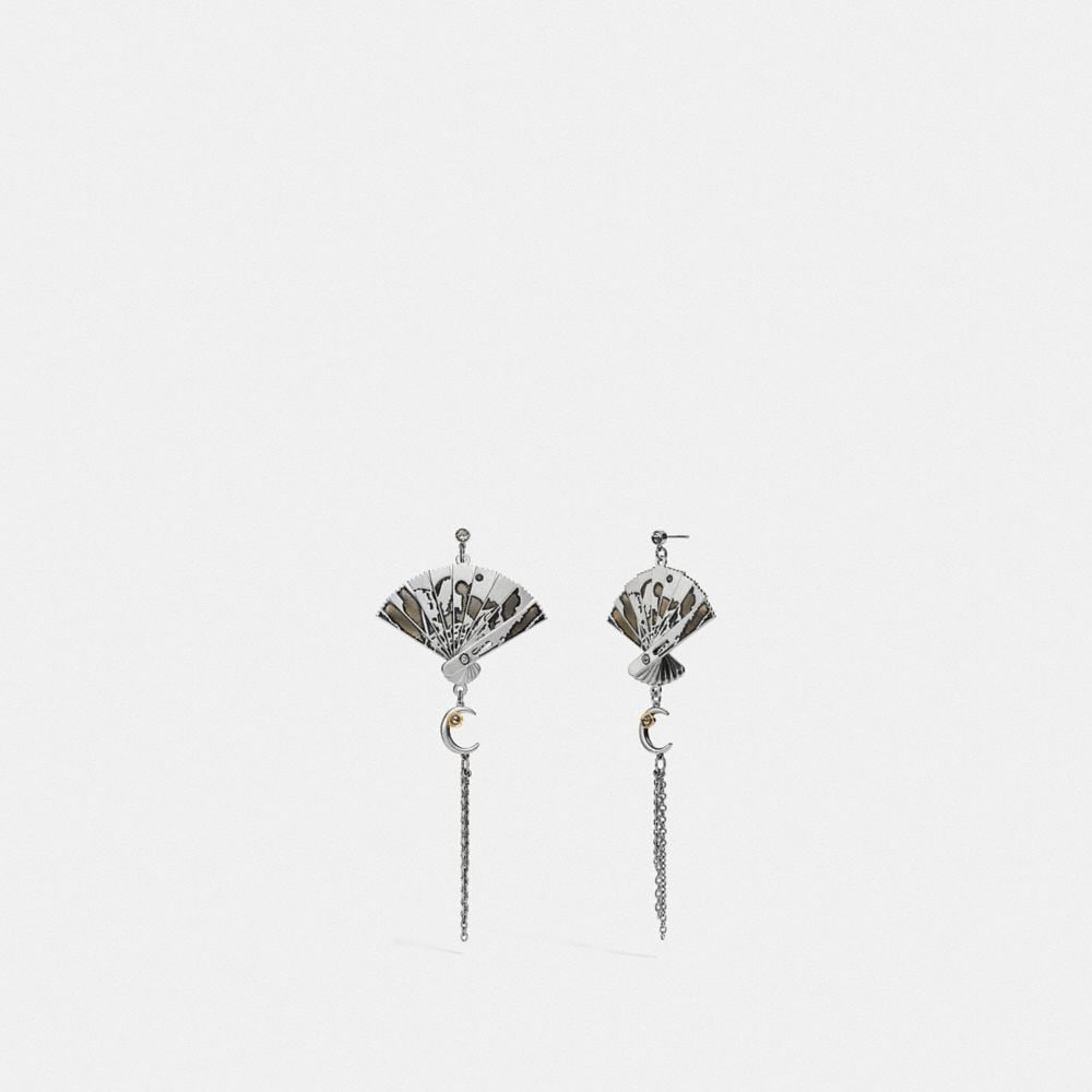 Coach Fan Earrings