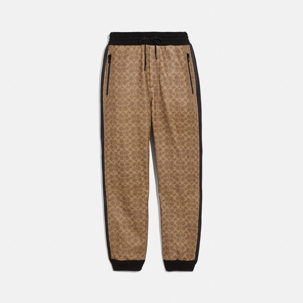 Coach SIGNATURE VARSITY TRACK PANTS