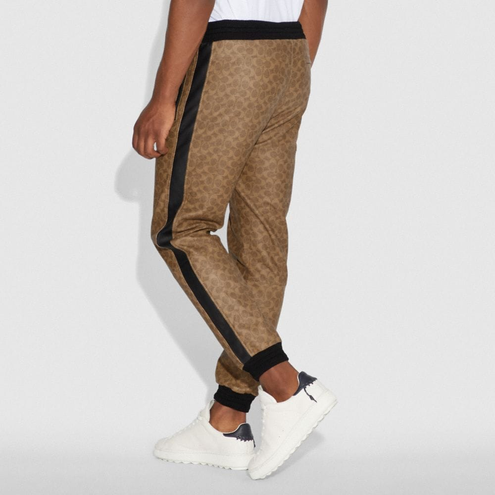 Coach SIGNATURE VARSITY TRACK PANTS Alternate View 2