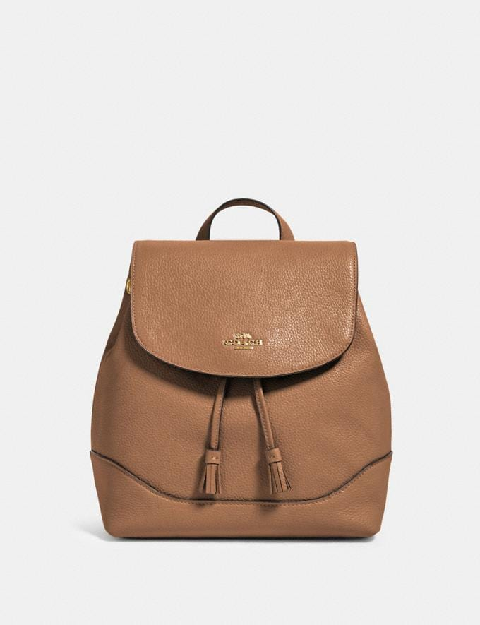 Coach Elle Backpack Im/Taupe Members Only Members Only