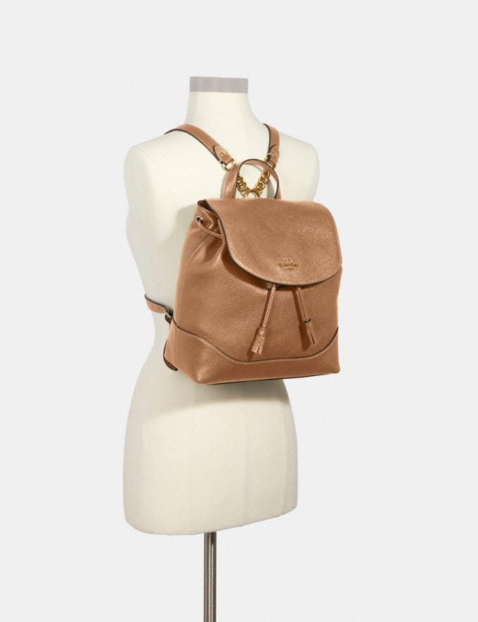 Coach Elle Backpack Im/Taupe Members Only Members Only Alternate View 2