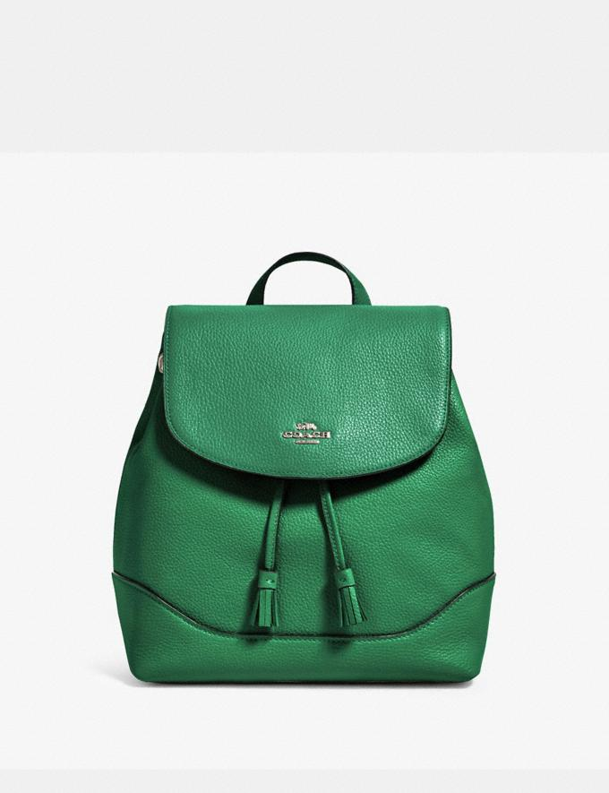 Coach Elle Backpack Sv/Shamrock Members Only Members Only