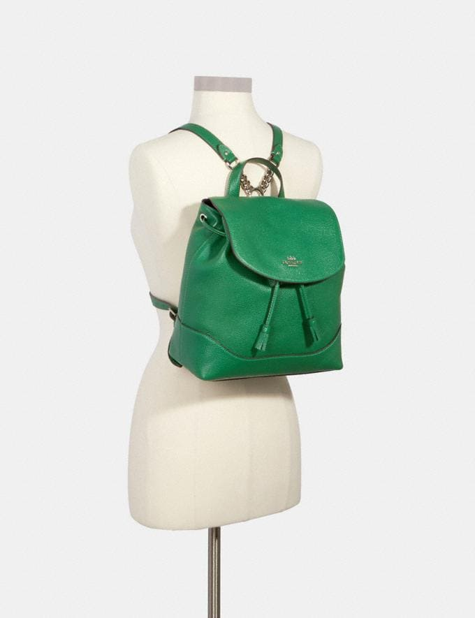 Coach Elle Backpack Sv/Shamrock Members Only Members Only Alternate View 2