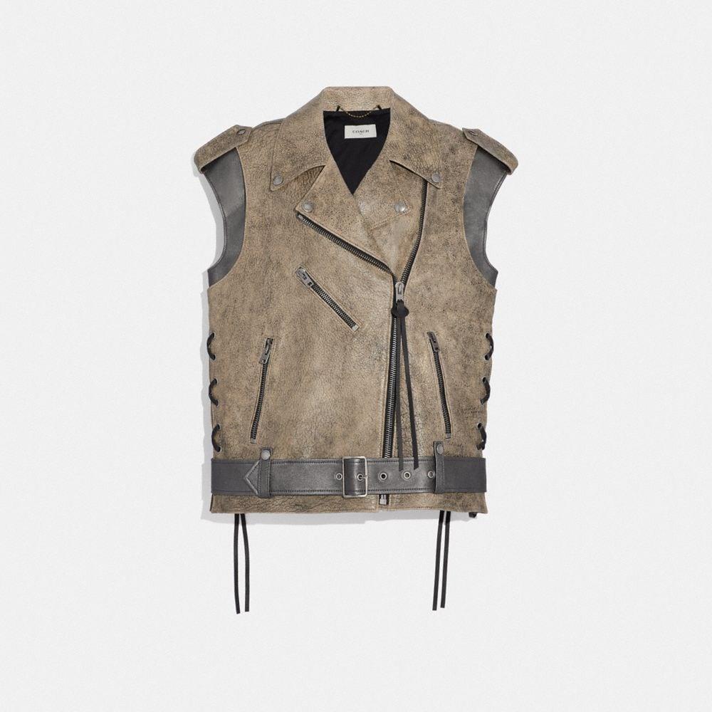 Coach Moto Vest