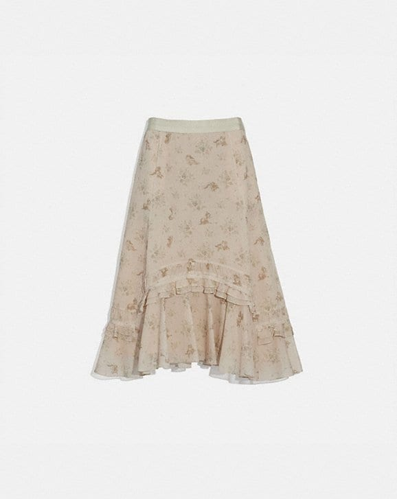 Coach DISNEY X COACH LONG TIERED SKIRT