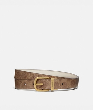 HARNESS BUCKLE REVERSIBLE BELT, 25MM