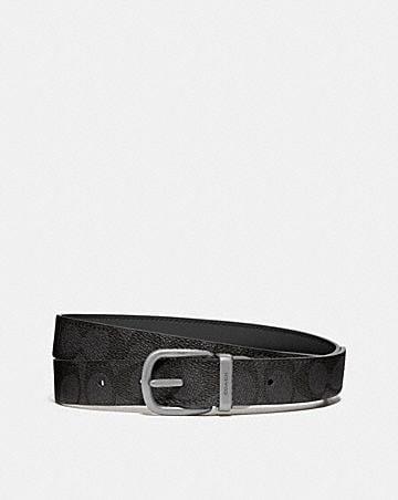harness buckle reversible belt, 25mm