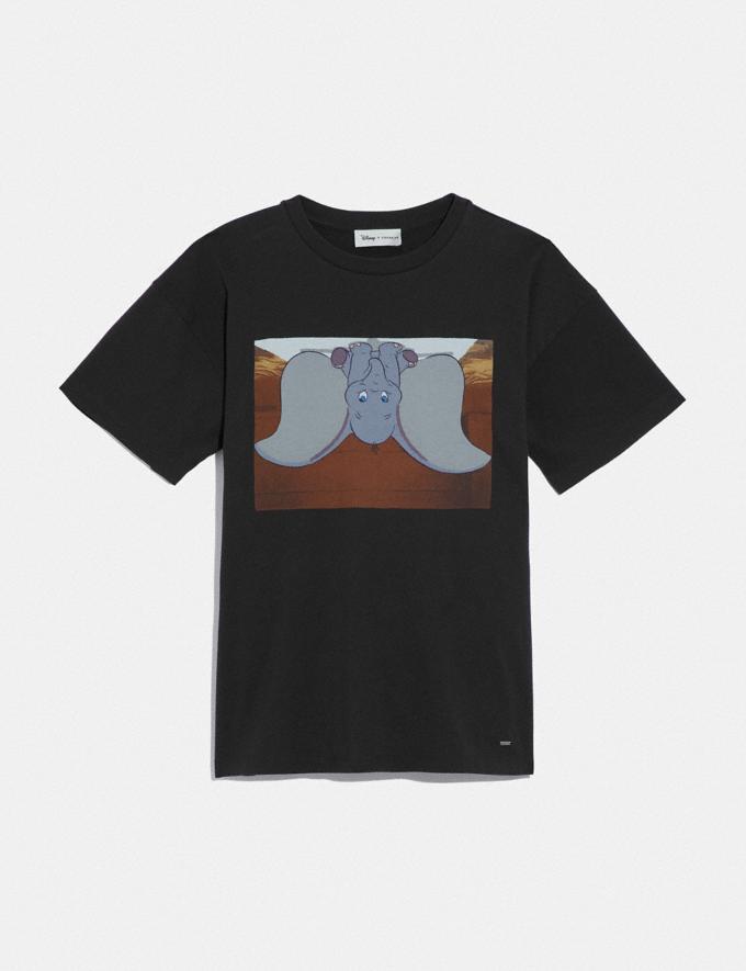 Coach Disney X Coach Dumbo Oversized T-Shirt Dark Shadow Women Ready-to-Wear Tops
