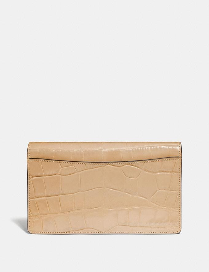 Coach Hayden Foldover Crossbody Clutch Gold/Beechwood Women Bags Crossbody Bags Alternate View 2