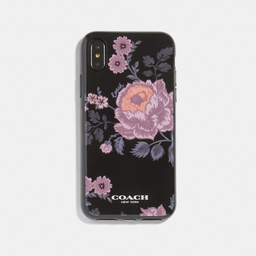 FUNDA PARA IPHONE X/XS CON ESTAMPADO FLORAL