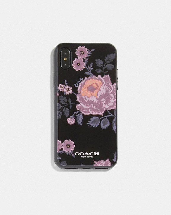 Coach IPHONE X/XS CASE WITH FLORAL PRINT