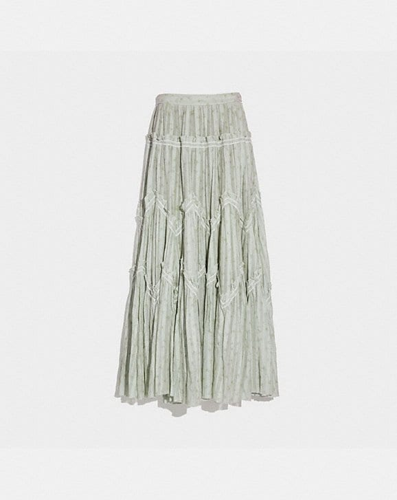 Coach RANCHERO DELUXE LONG SKIRT