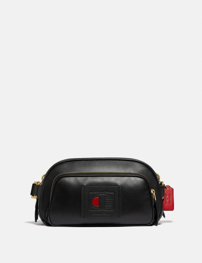 Coach Coach X Champion Belt Bag Brass/Black