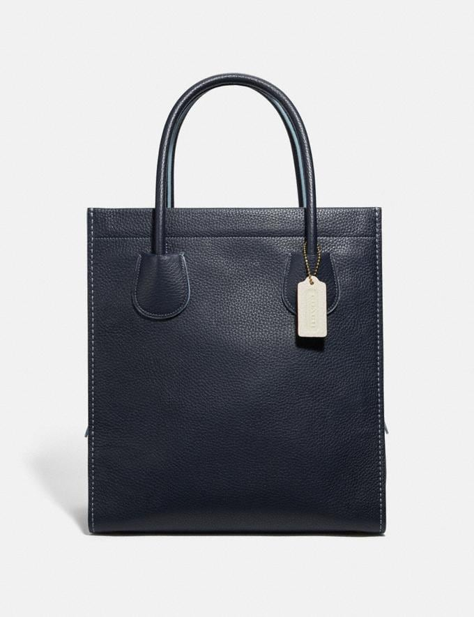 Coach Cashin Carry Tote 29 B4/Midnight Navy Women Bags Totes