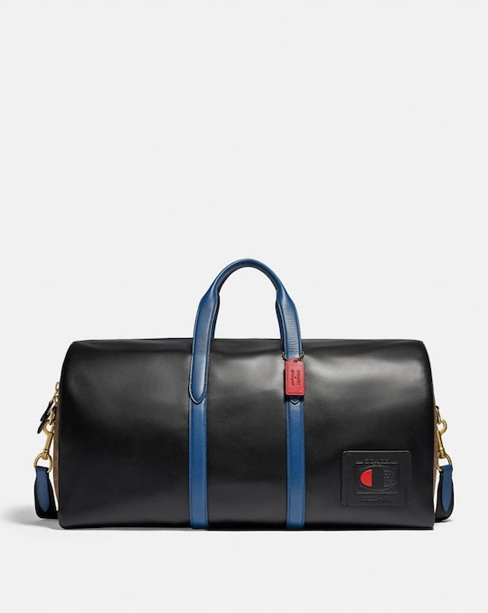 COACH X CHAMPION METROPOLITAN SOFT DUFFLE 52 IN SIGNATURE CANVAS
