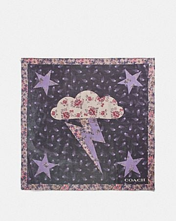 GLAM ROCK LAME BANDANA