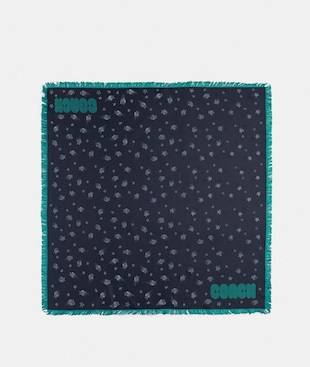 MAGIC STAR SILK SQUARE SCARF
