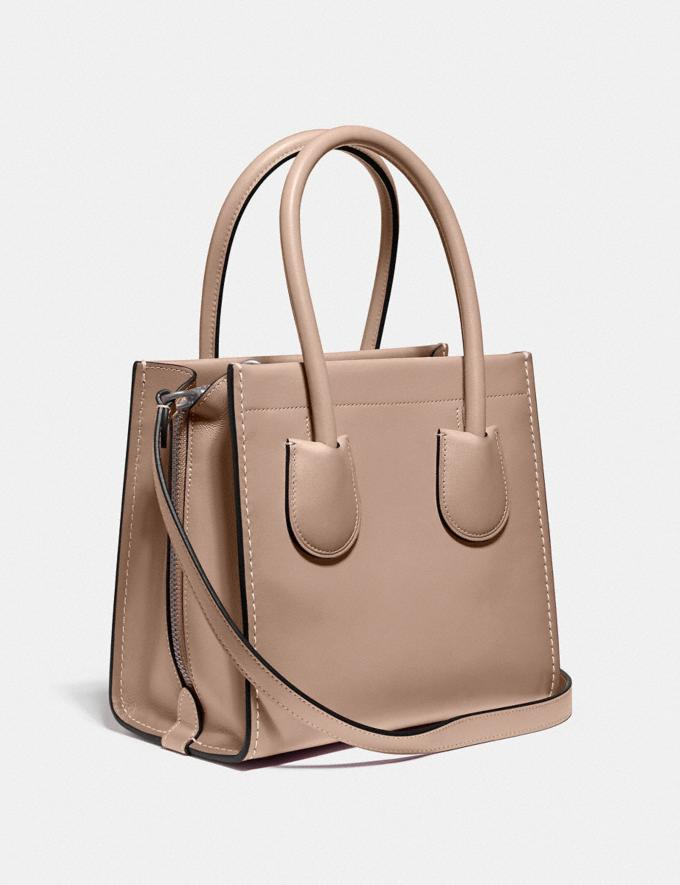 Coach Cashin Carry Tote 22 Silver/Taupe New Featured The Coach Originals Alternate View 1