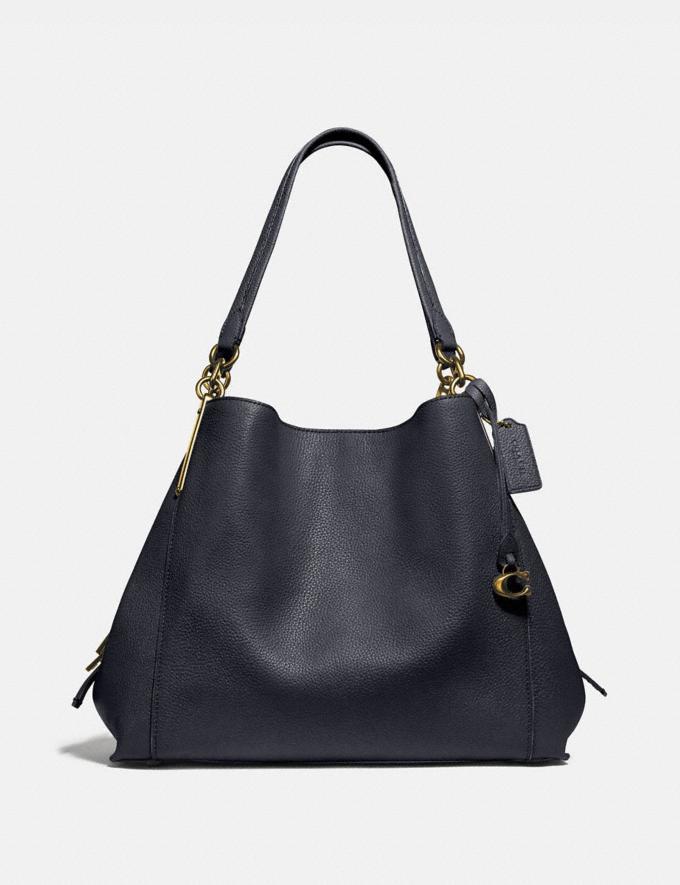 Coach Dalton 31 Blue Women Bags Shoulder Bags