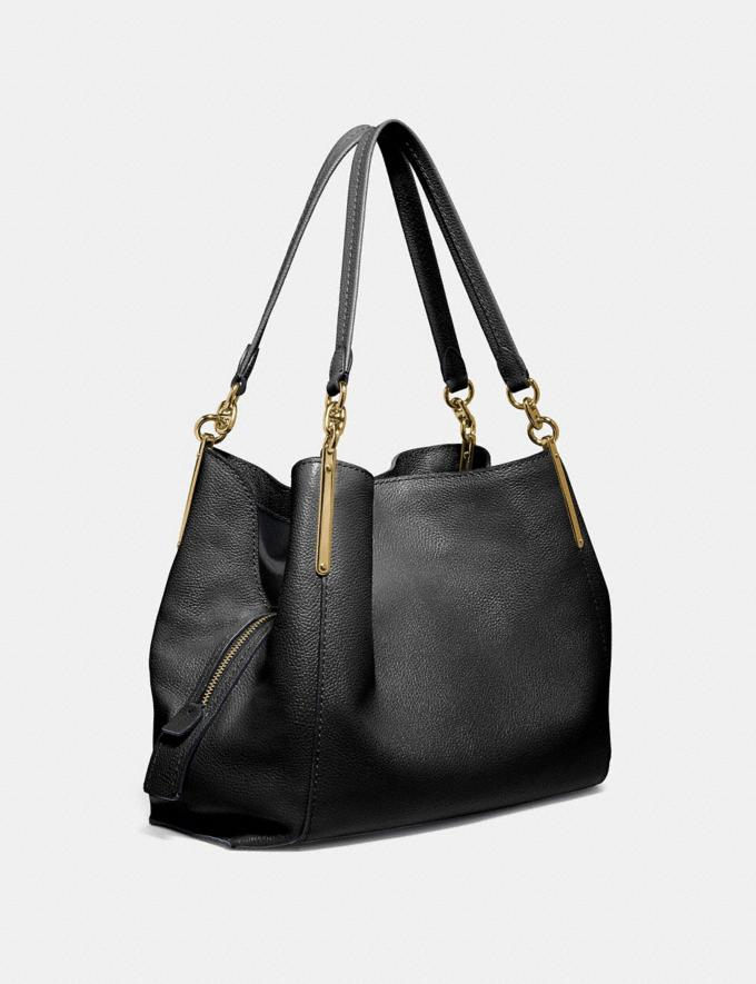 Coach Dalton 31 Black/Gold Personalise For Her Bags Alternate View 1