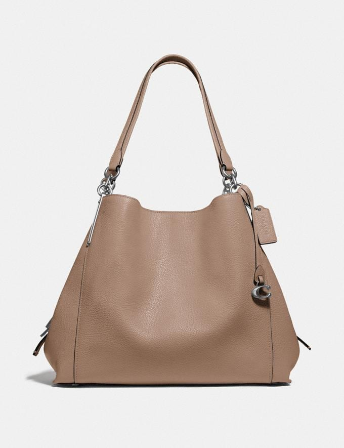 Coach Dalton 31 Lh/Taupe Women Bags Shoulder Bags