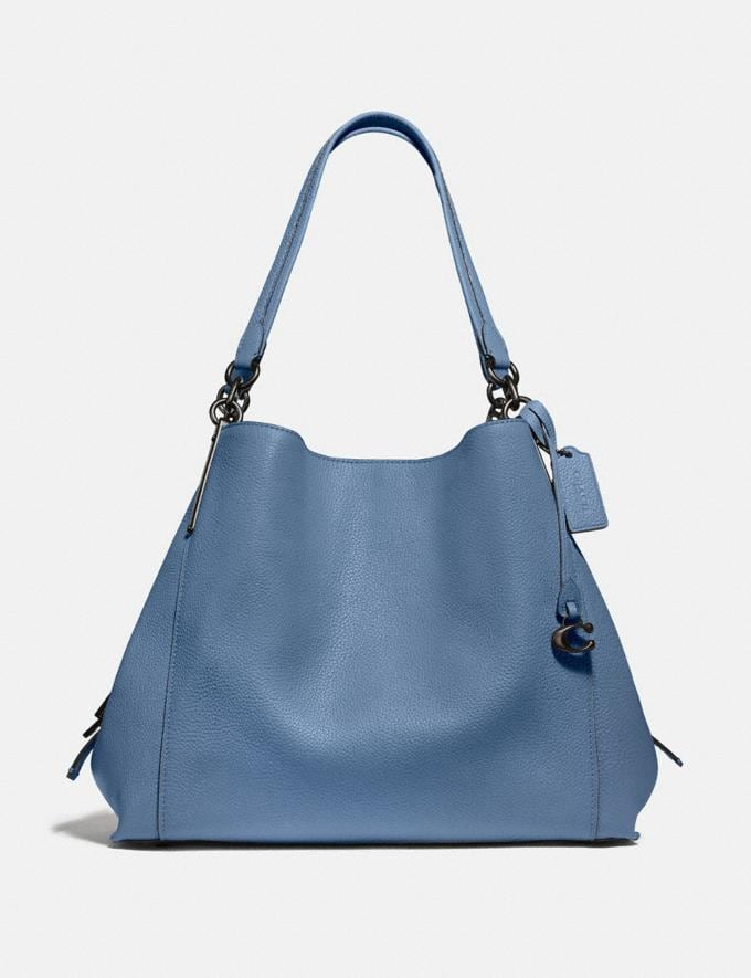 Coach Dalton 31 Pewter/Stone Blue SALE 30% off Select Styles 30% off