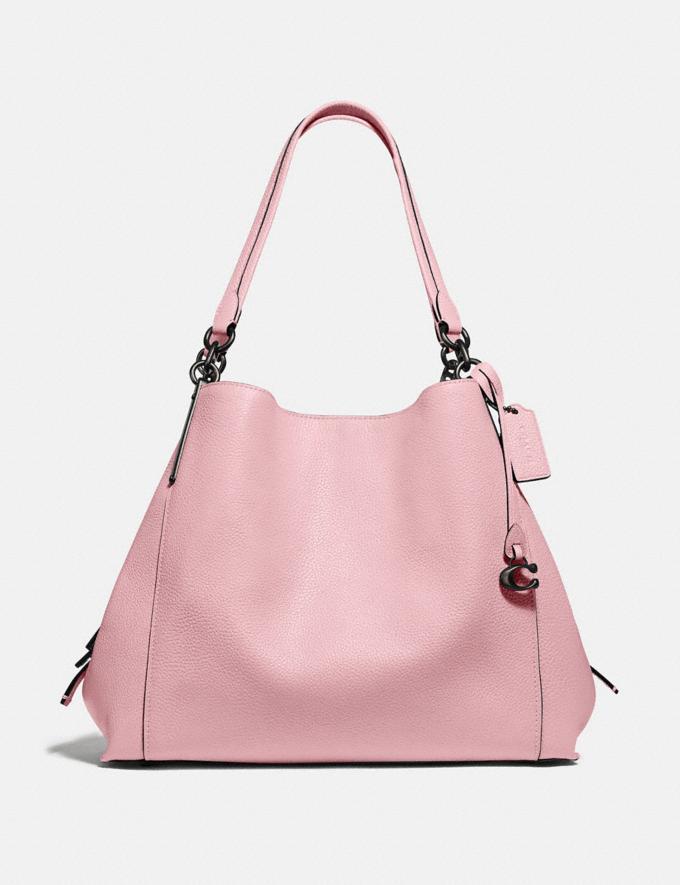 Coach Dalton 31 Pewter/Aurora Women Handbags Shoulder Bags & Hobos