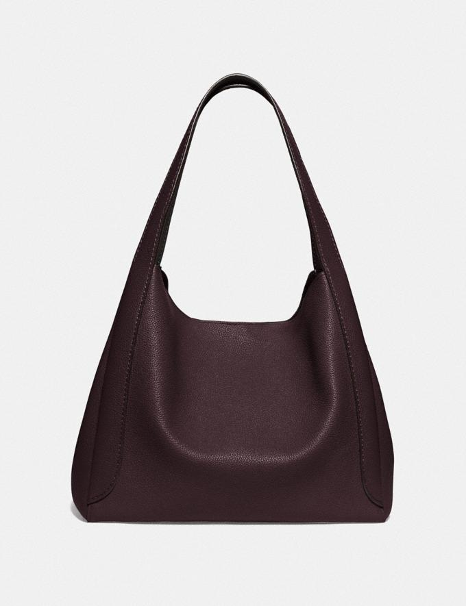 Coach Hadley Hobo Gd/Oxblood New Women's New Arrivals Alternate View 2