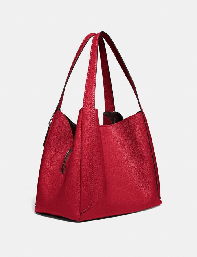 Coach Hadley Hobo Red Apple/Gunmetal SALEDDD Women's Sale New to Sale New to Sale Alternate View 1