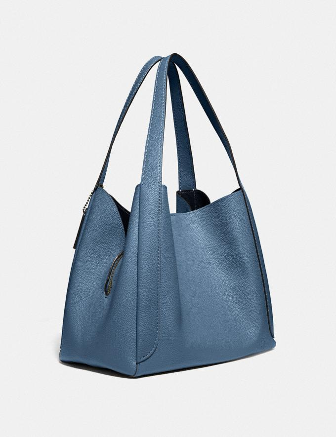Coach Hadley Hobo Gunmetal/Stone Blue Gifts For Her Bestsellers Alternate View 1