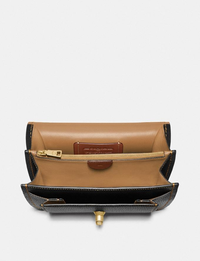 Coach Troupe Crossbody Black/Brass  Alternate View 2