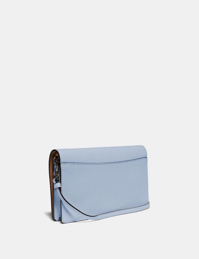 Coach Hayden Foldover Crossbody With Scattered Rivets Pewter/Mist Women Bags Crossbody Bags Alternate View 1