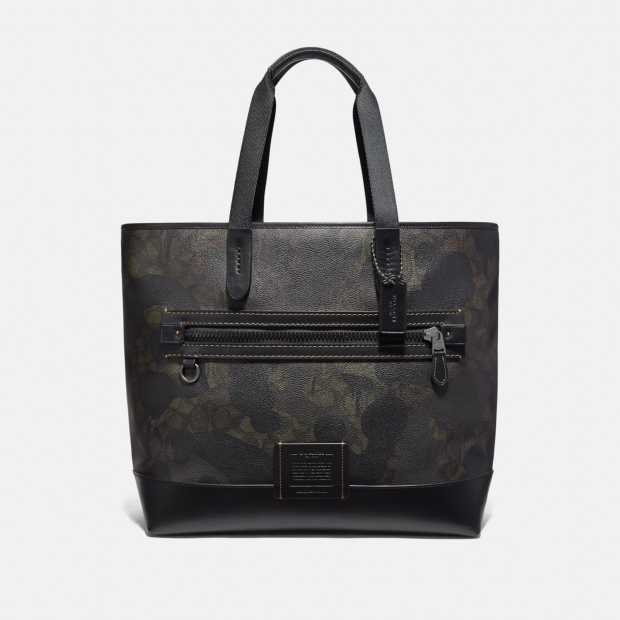 Coach Totes COACH ACADEMY TOTE IN SIGNATURE CANVAS WITH WILD BEAST PRINT