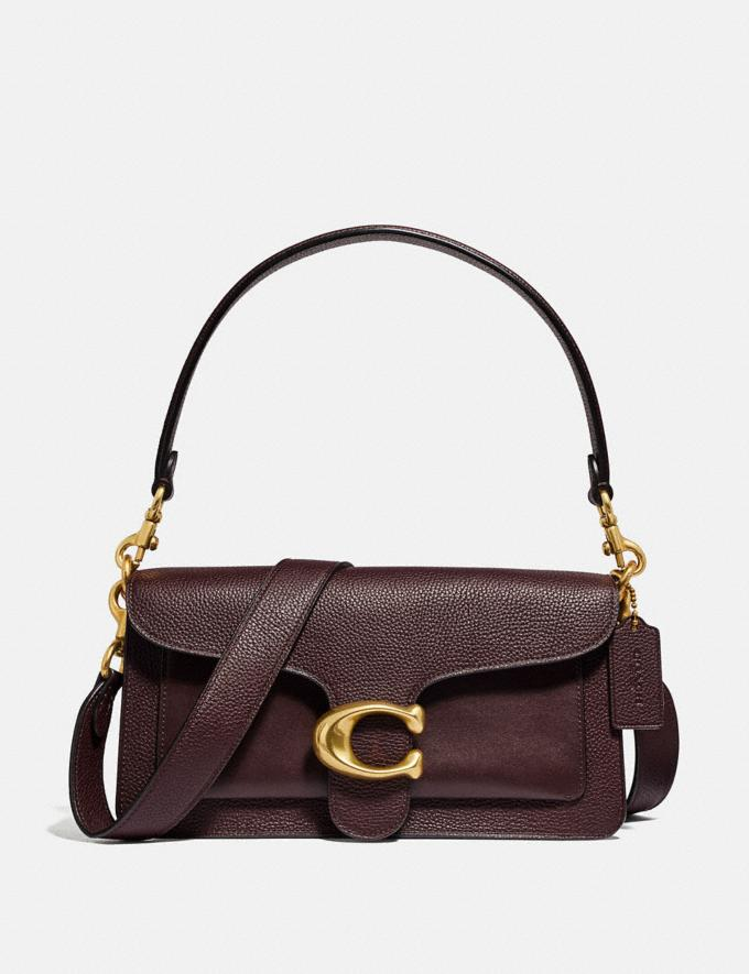 Coach Tabby Shoulder Bag 26 Oxblood/Brass Women Collection Tabby
