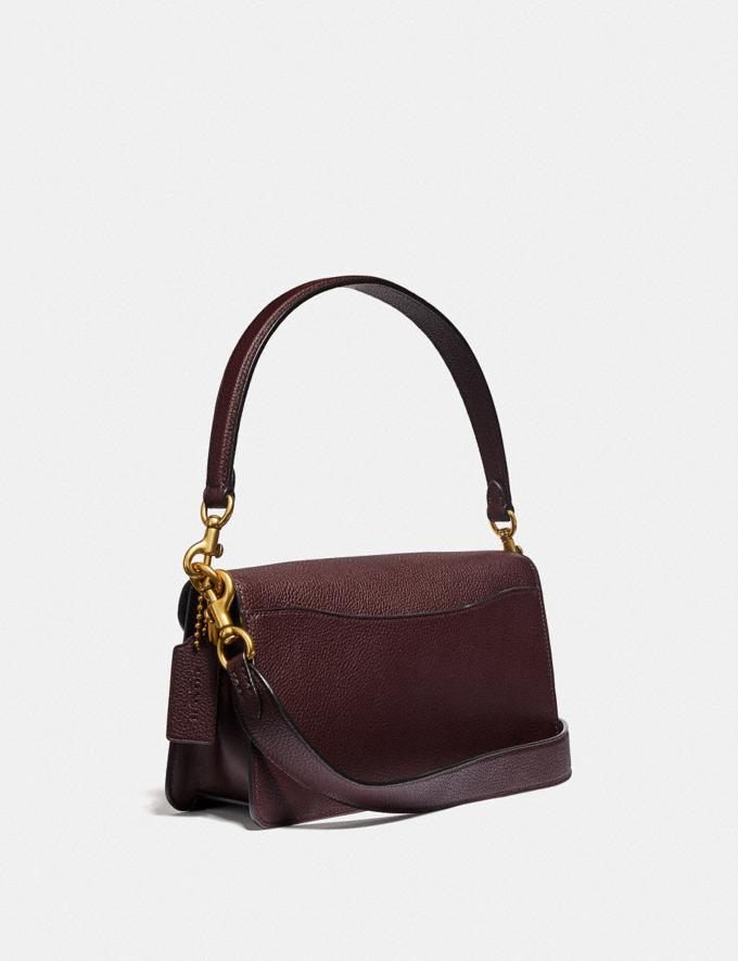 Coach Tabby Shoulder Bag 26 Oxblood/Brass Women Collection Tabby Alternate View 1