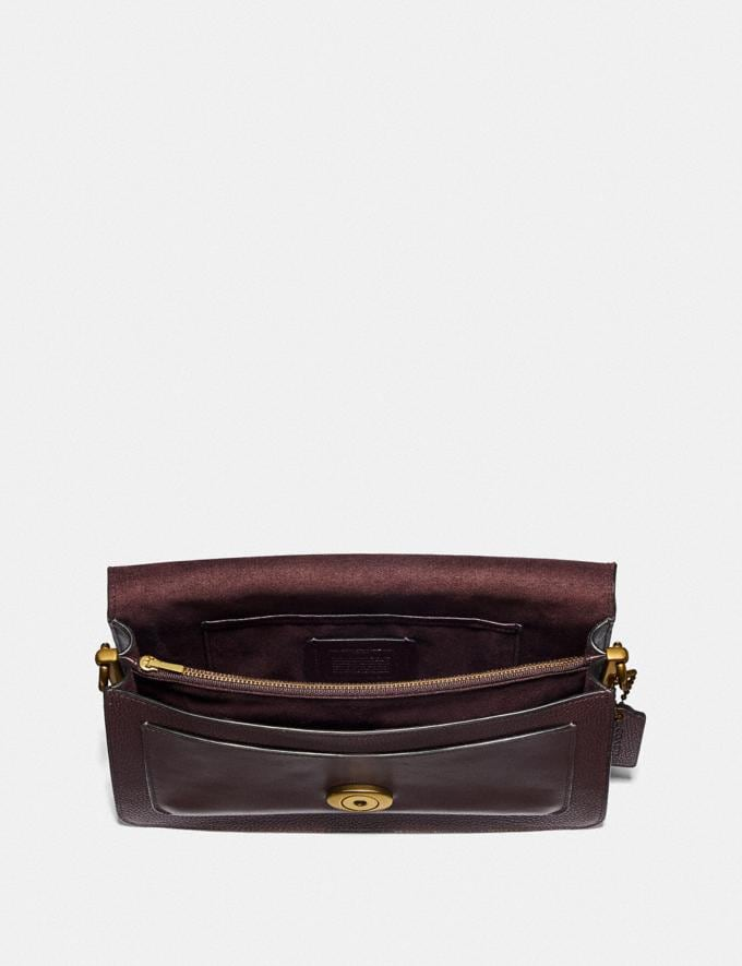 Coach Tabby Shoulder Bag 26 Oxblood/Brass Women Collection Tabby Alternate View 2