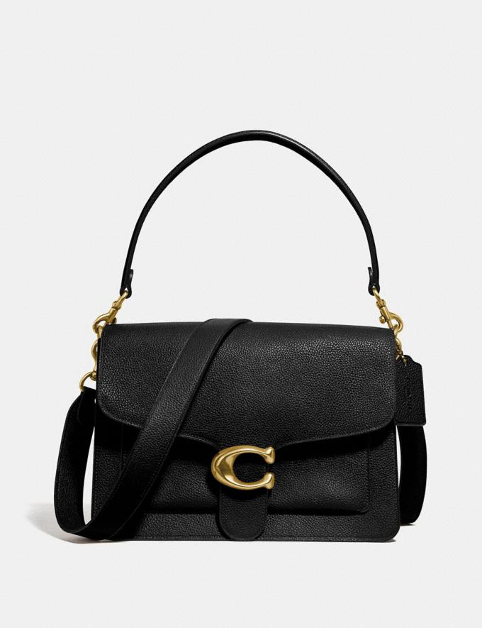 Coach Tabby Shoulder Bag Black/Brass Women Collection Tabby