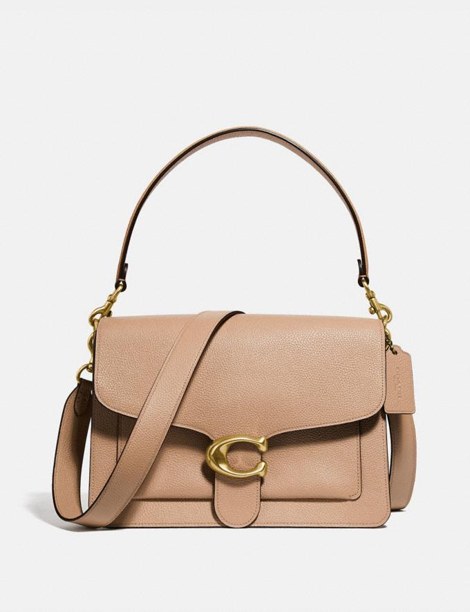 Coach Tabby Shoulder Bag Beechwood/Brass Women Bags