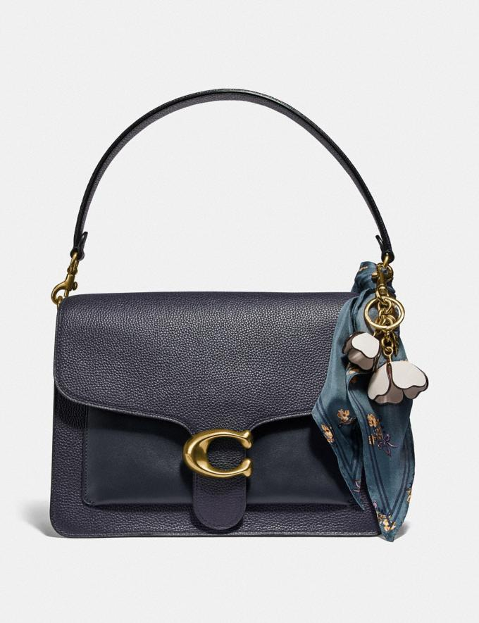 Coach Tabby Shoulder Bag Midnight Navy/Brass Women Bags Crossbody Bags Alternate View 3
