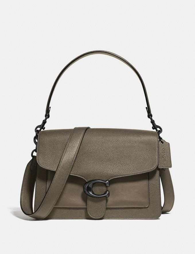 Coach Tabby Shoulder Bag Moss/Pewter New Women's New Arrivals Bags