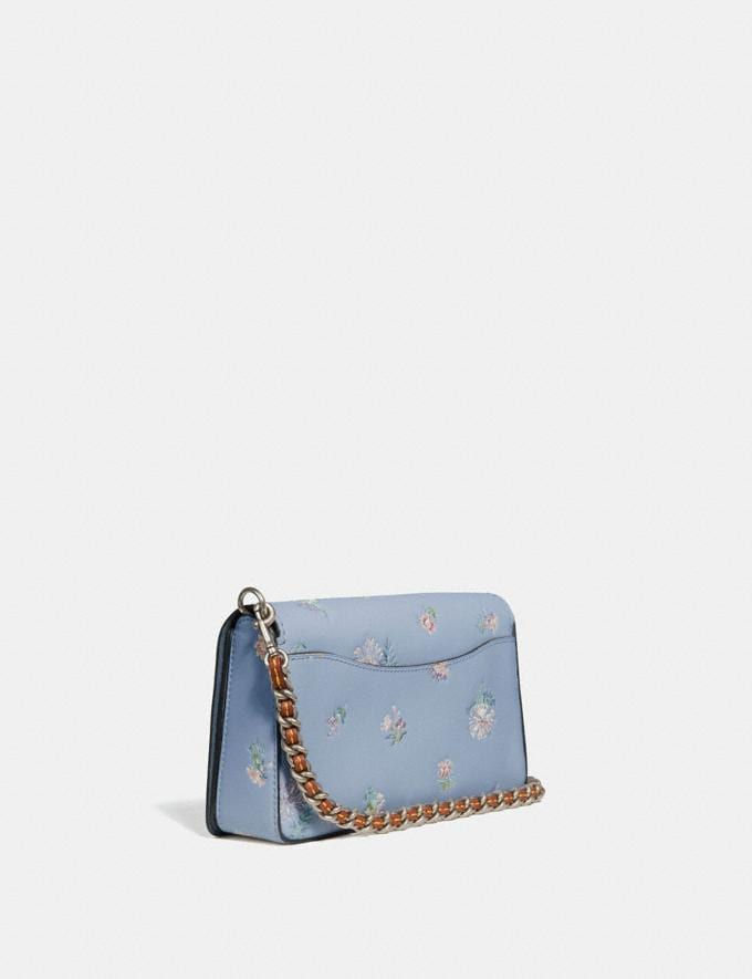 Coach Dinky With Meadow Prairie Print Silver/Mist SALE Ready, Set, Holiday Event Women's Alternate View 1