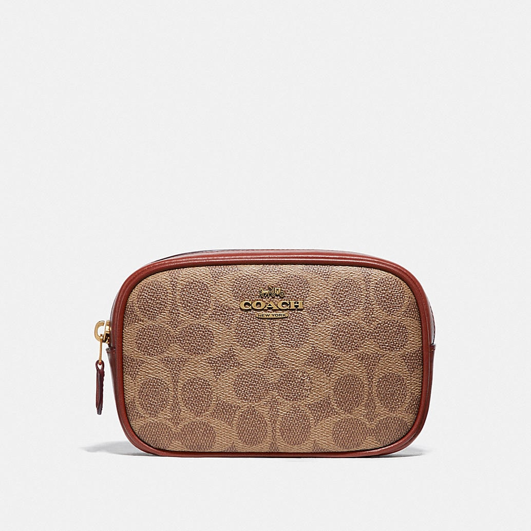Belt Bag In Colorblock Signature Canvas by Coach
