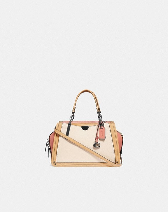 Coach DREAMER 21 IN COLORBLOCK WITH RIVETS